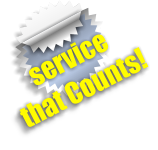 service that Counts!